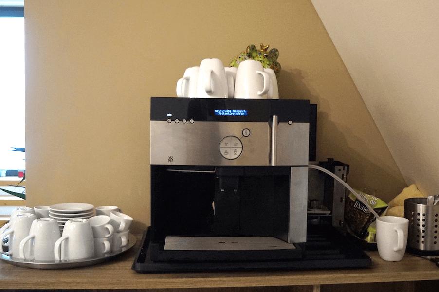 Kiwi-Physio Goslar Kaffeemaschine